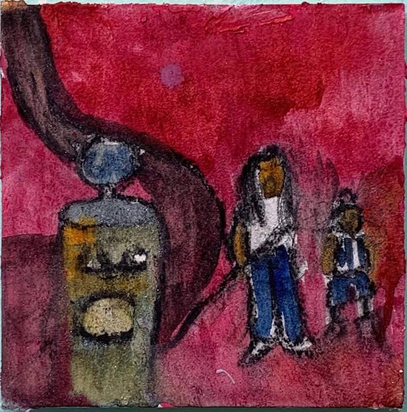 Artwork – Bianca Lott, By the Gasoline Pump, 2019