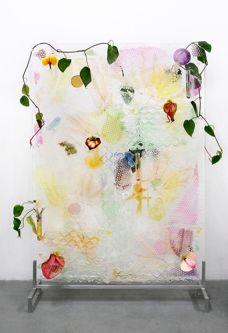 Artwork – Spadix Inflorescence Wet Plate, 2018