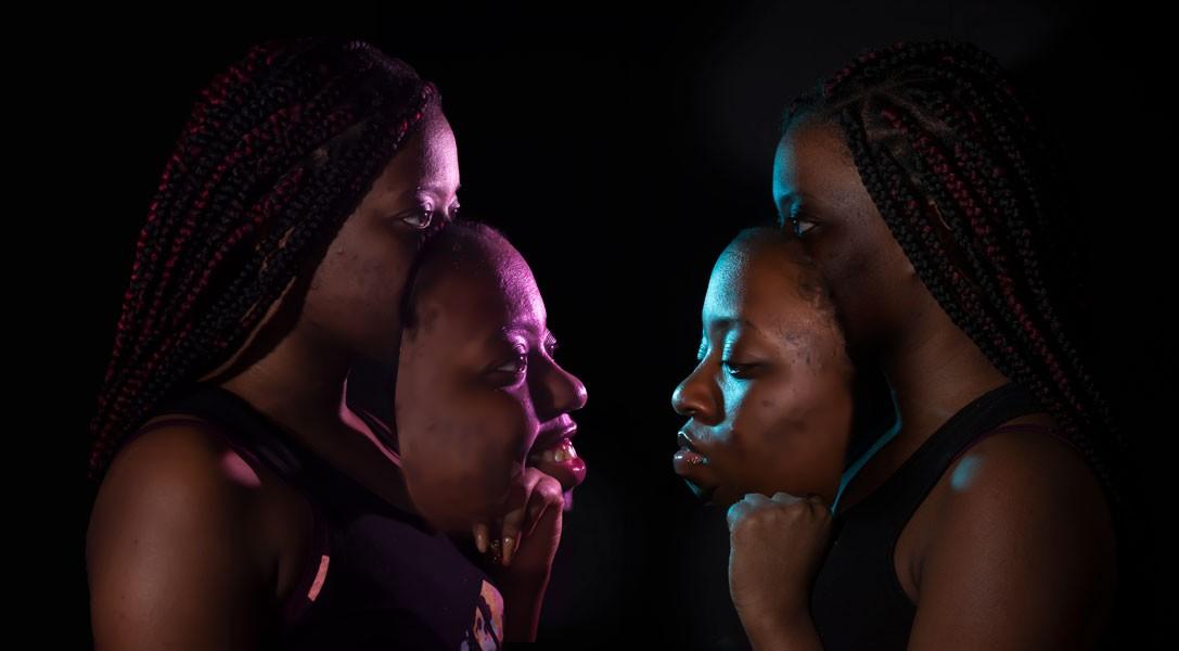 Artwork – Two Masks, 2020