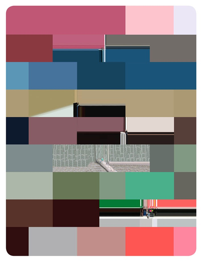 Artwork – Abstract range composition #1, New York and Argentina, 2007