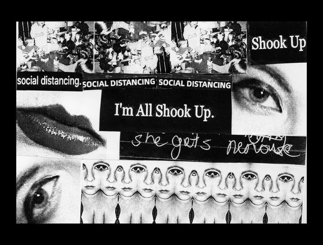 Artwork – I'm All Shook Up., 2020