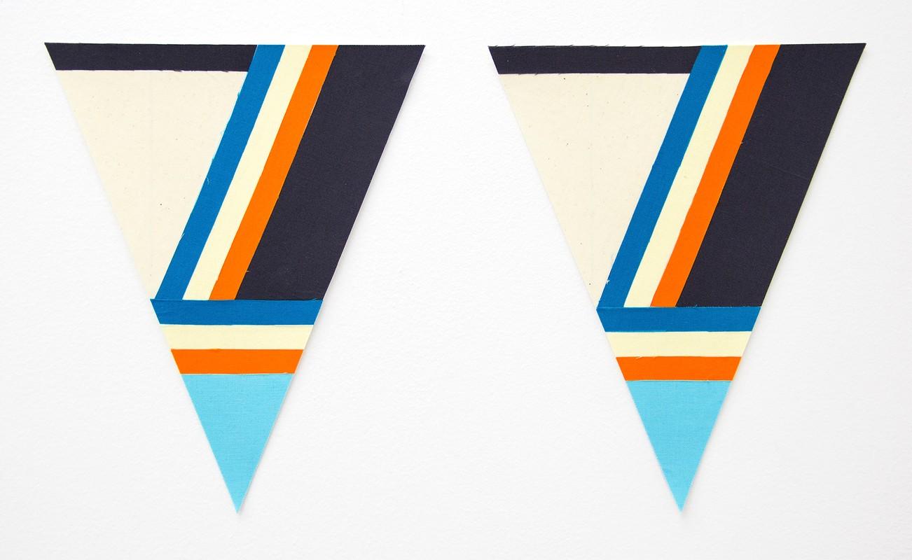 Artwork – Flagettes, No. 12 (Diptych), 2018