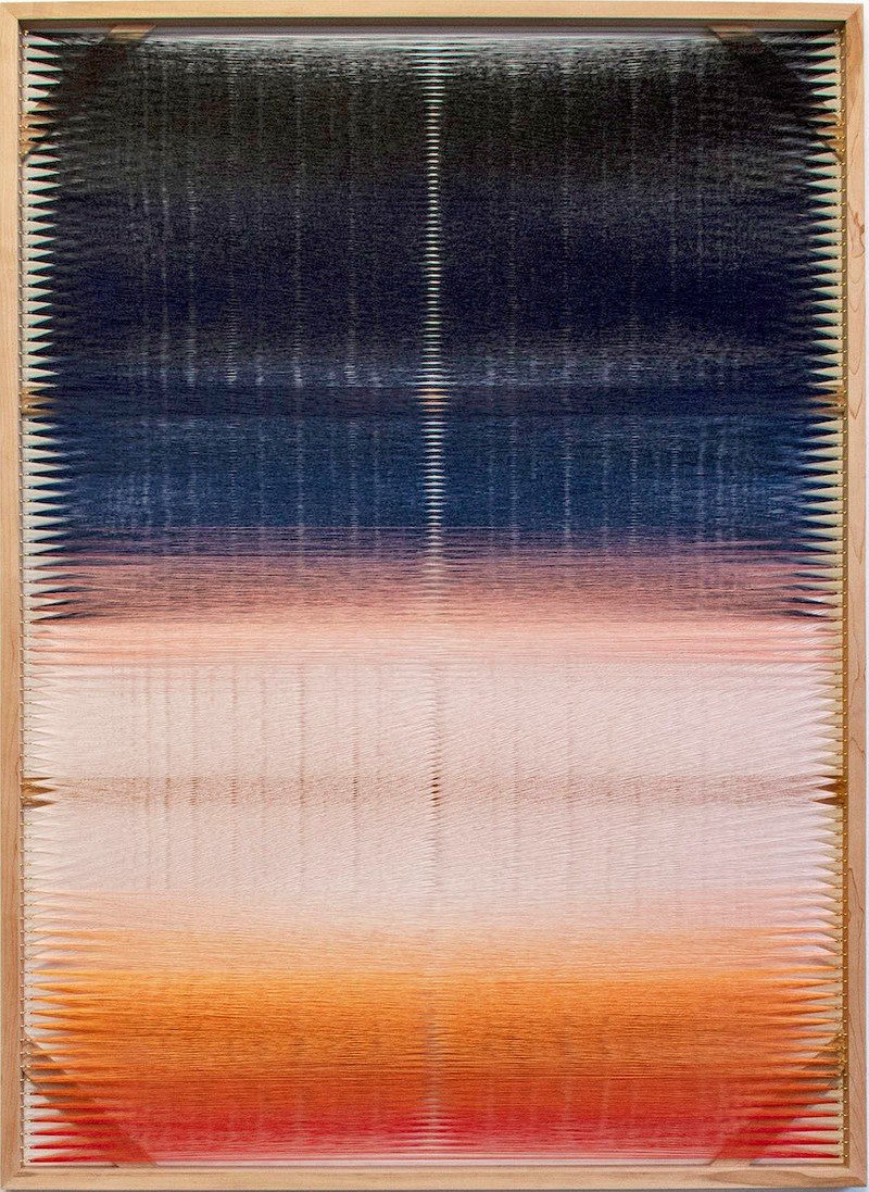 Artwork – Woven Screen (Heavy Sky), 2018