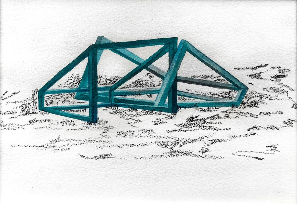 Artwork – Passenger of structures, 2018