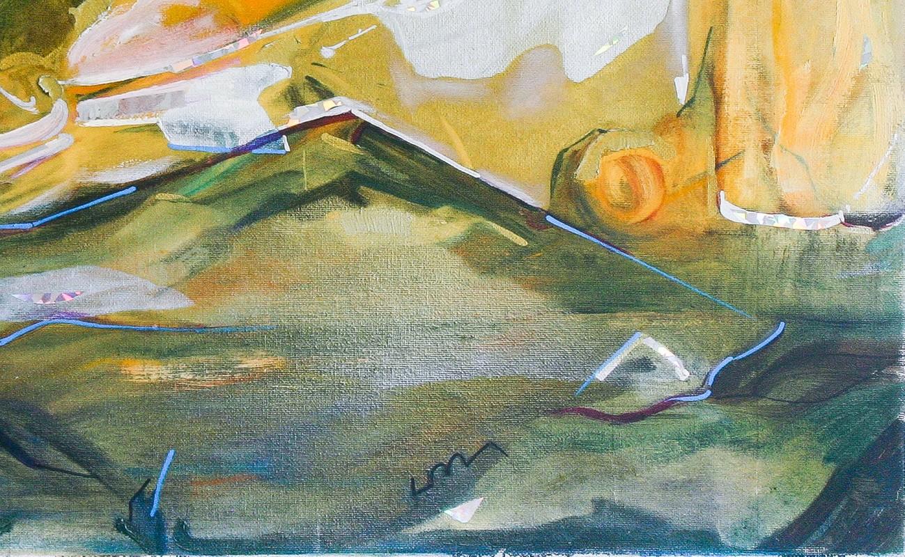 Artwork – Virtual Landscape (IV) (Original Painting), 2019