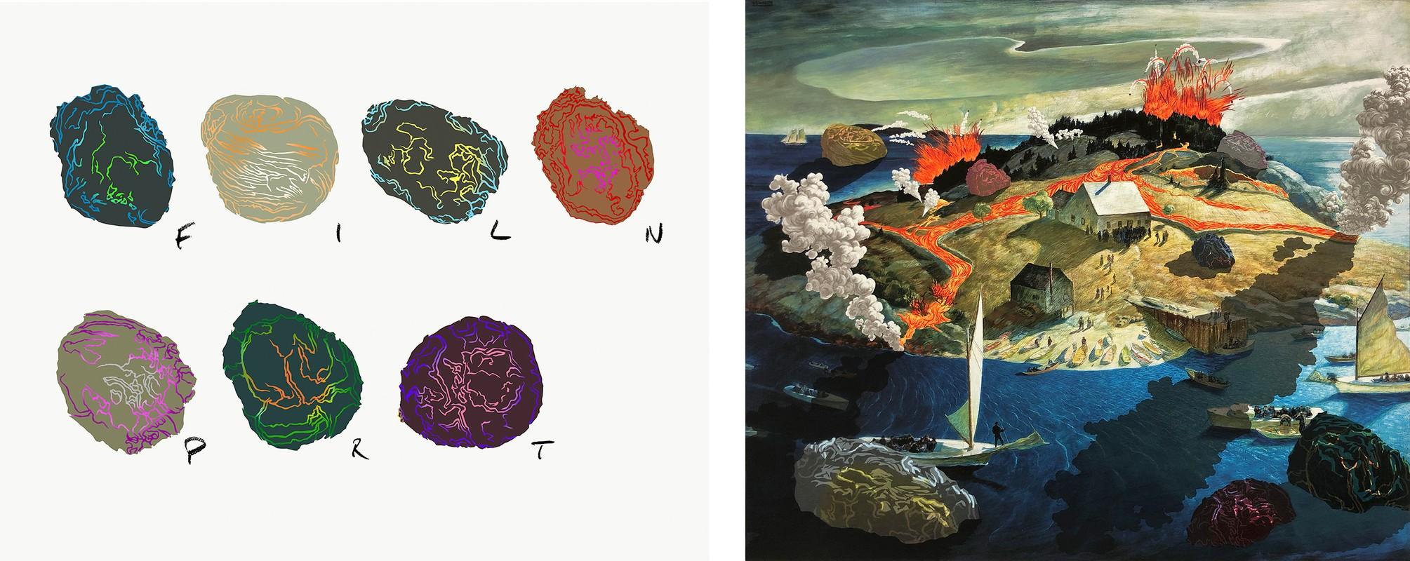 Artwork – Island Funeral, 2021