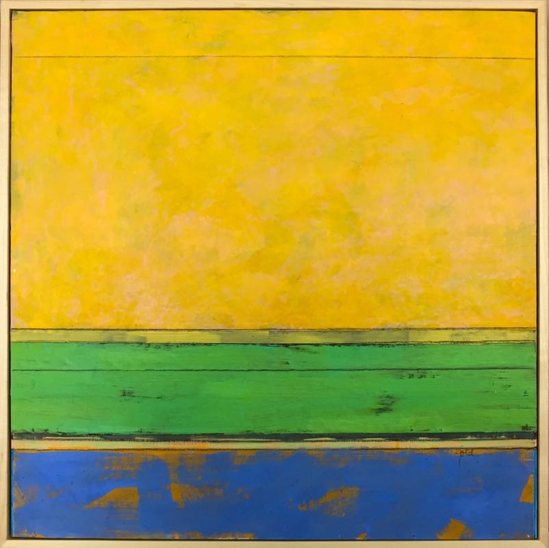 Artwork – Yellow Green Blue, 2019