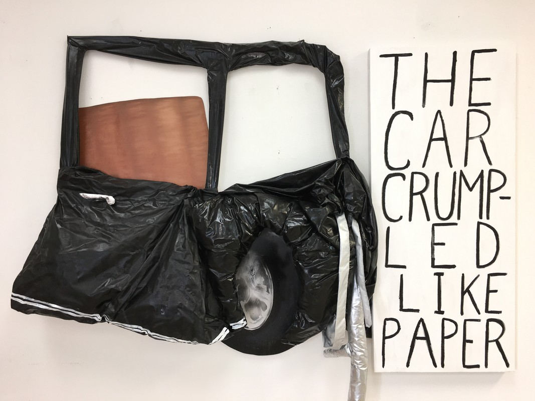 Artwork – The Car Crumpled Like Paper, 2019