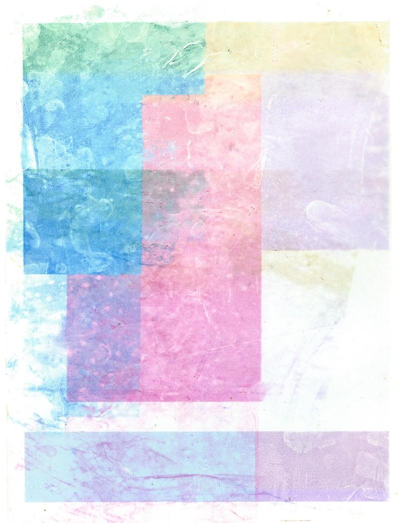 Artwork – Schmutz, Magenta, Cyan, 2018