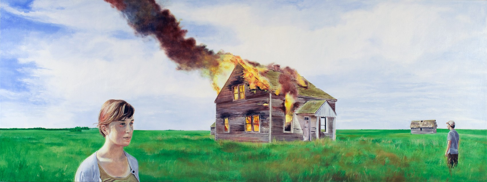 "Artwork – Nate Burbeck, ""American Decadence (Codington County, South Dakota)"", 2011"