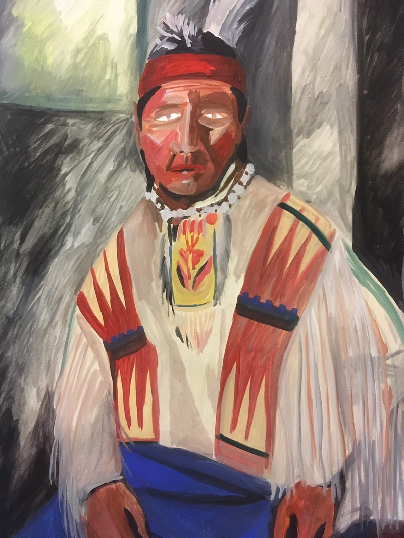Artwork – Plainsland Chief, 2018