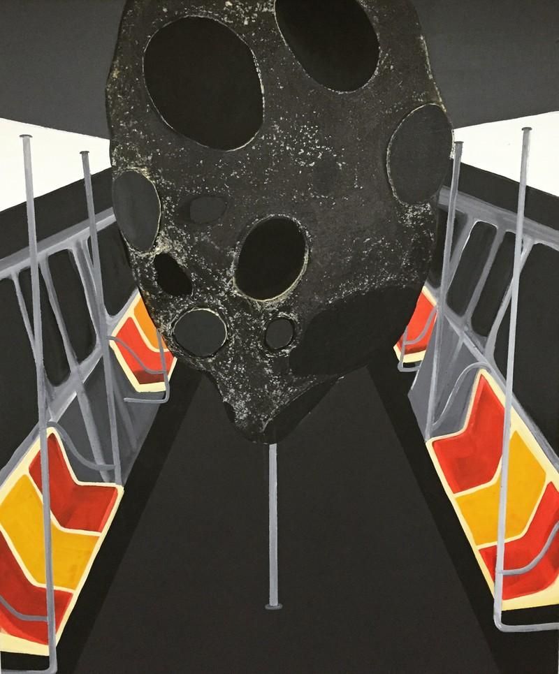Artwork – HLWA 5: On the subway, 2016