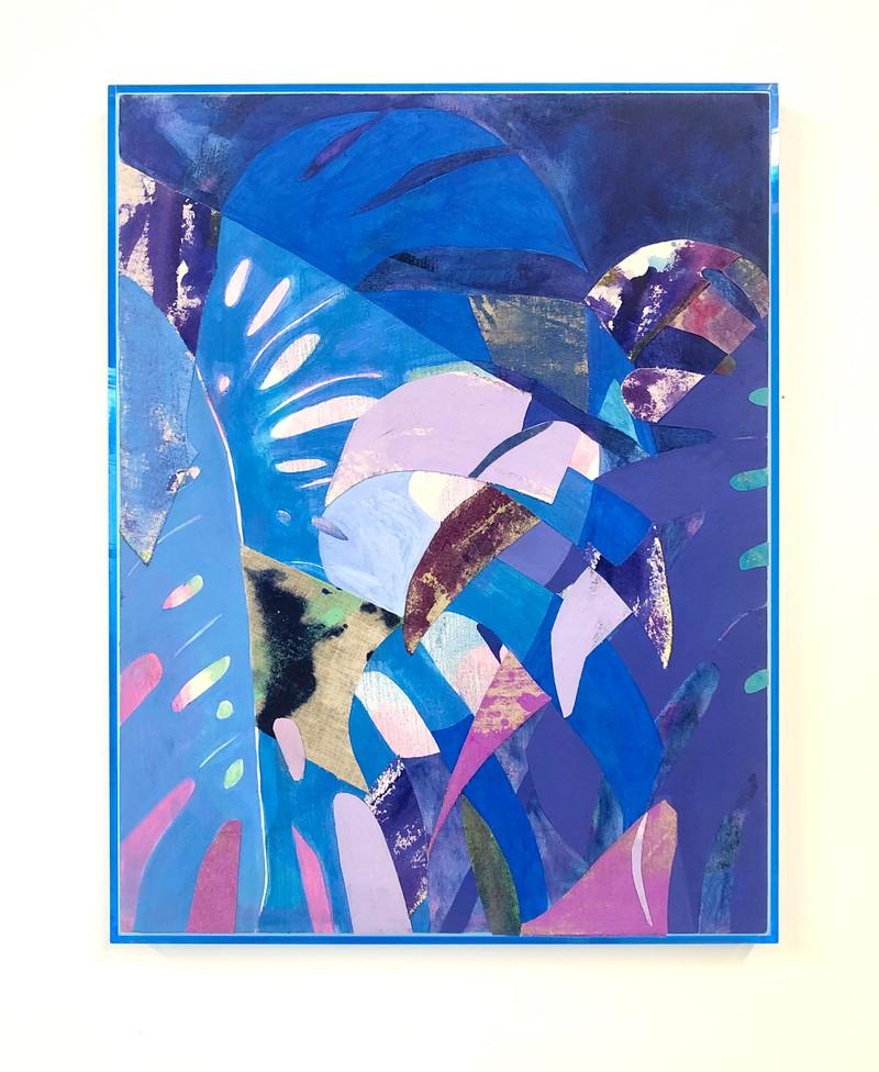 Artwork – Blue Monstera, 2019