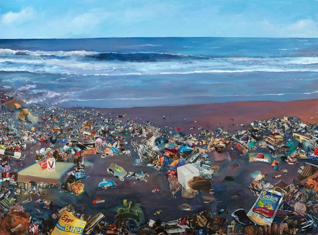 Artwork – Valvoline Beach, 2019