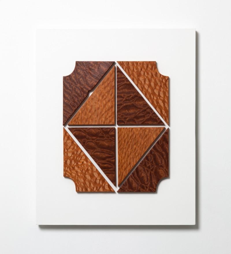 Artwork – Composition #4 (veneer), 2019