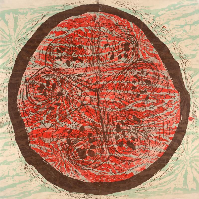 Artwork – Seeing a Watermelon 4, 2017