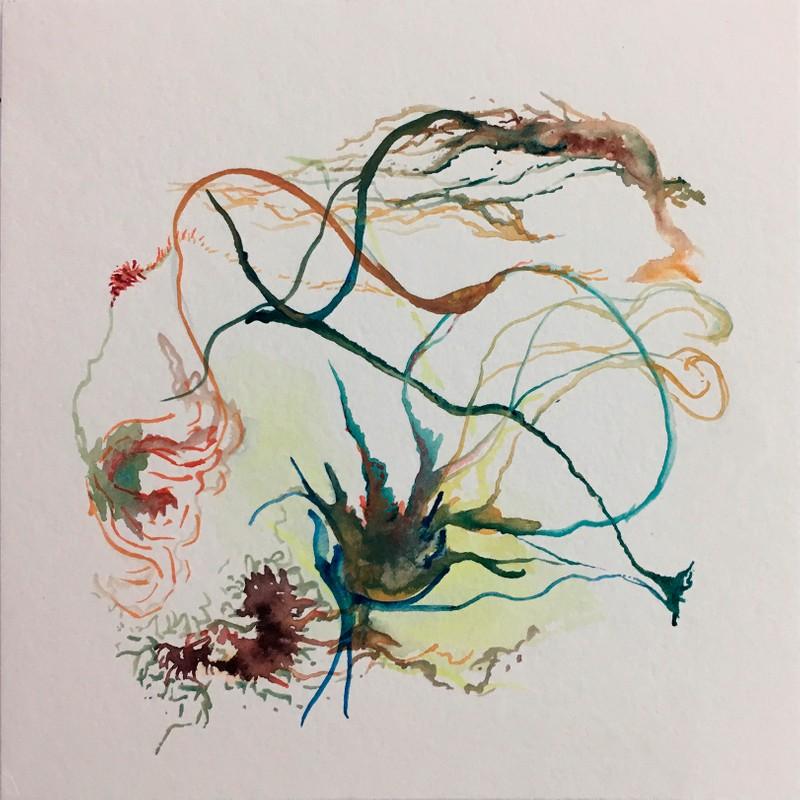 Artwork – green kelp, 2018