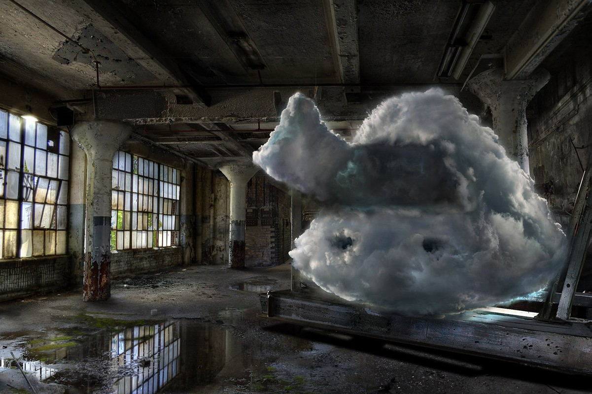 Artwork – Shooting Clouds IV - Barbara Nati, 2019