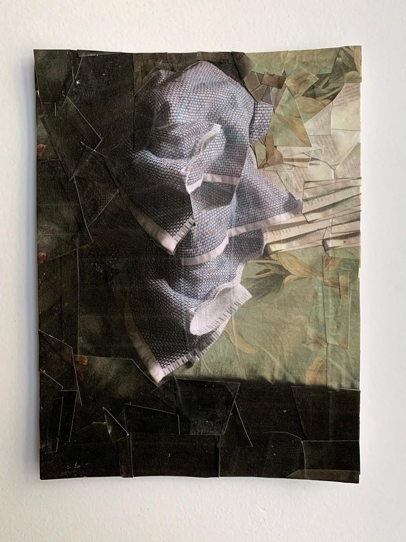 Artwork – Domestic Material: Kitchen Towel, 2020