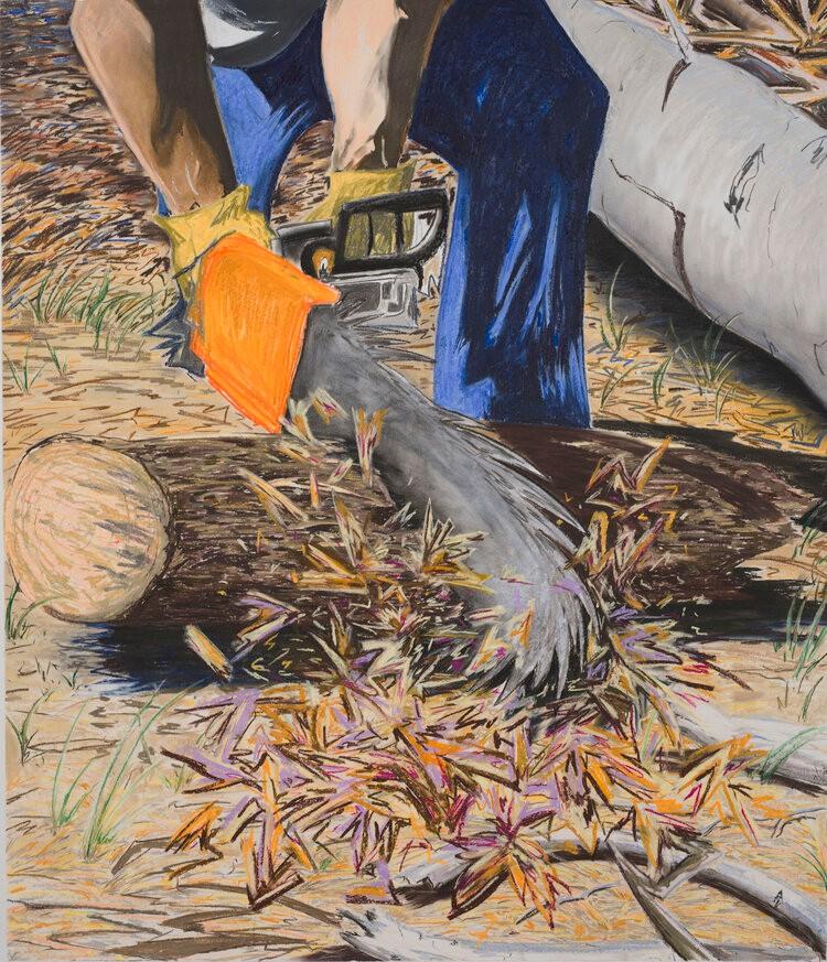 Artwork – Eleanor Mahin Thorp, Turn to Dust III, 2020