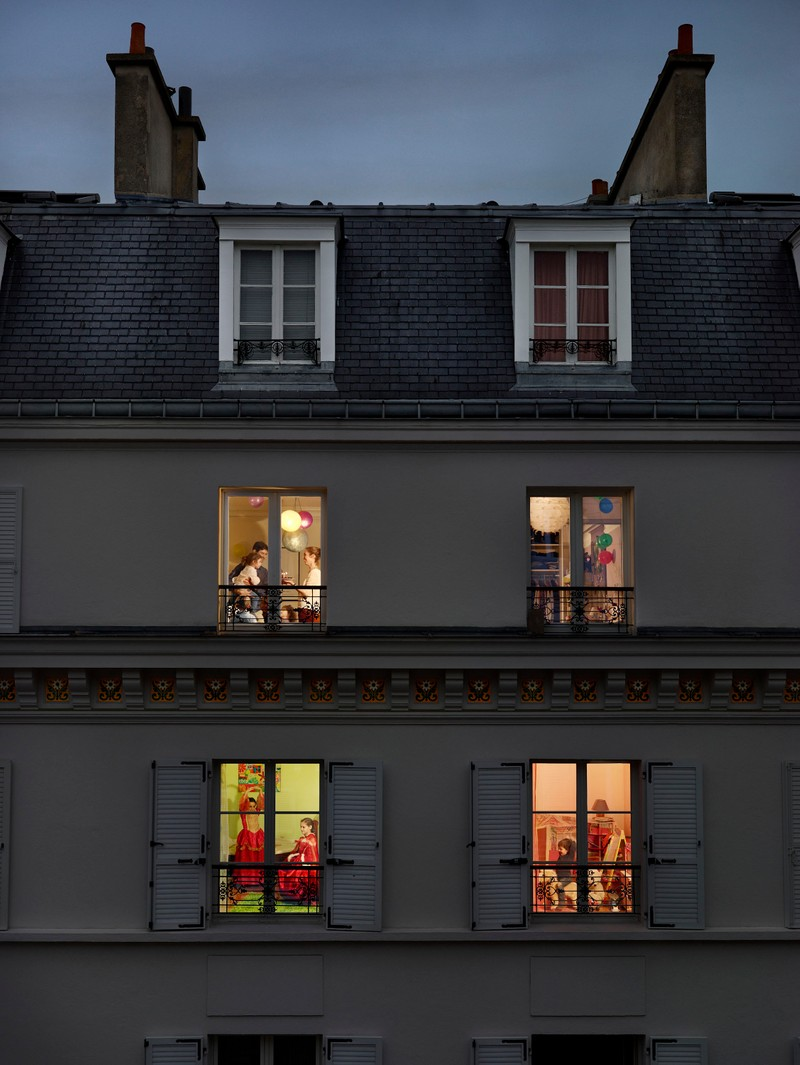 "Artwork – Gail Albert-Halaban, ""Rue Lemercier, Paris, 17E, Le 17 Novembre, 2013"", 2013"