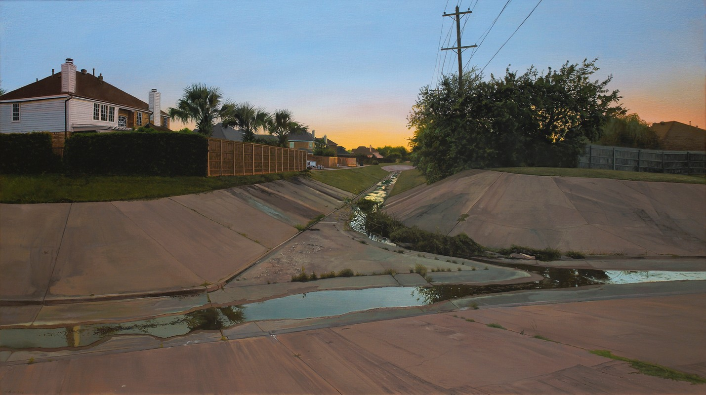 "Artwork – Nate Burbeck, ""The Colony, Texas"", 2018"
