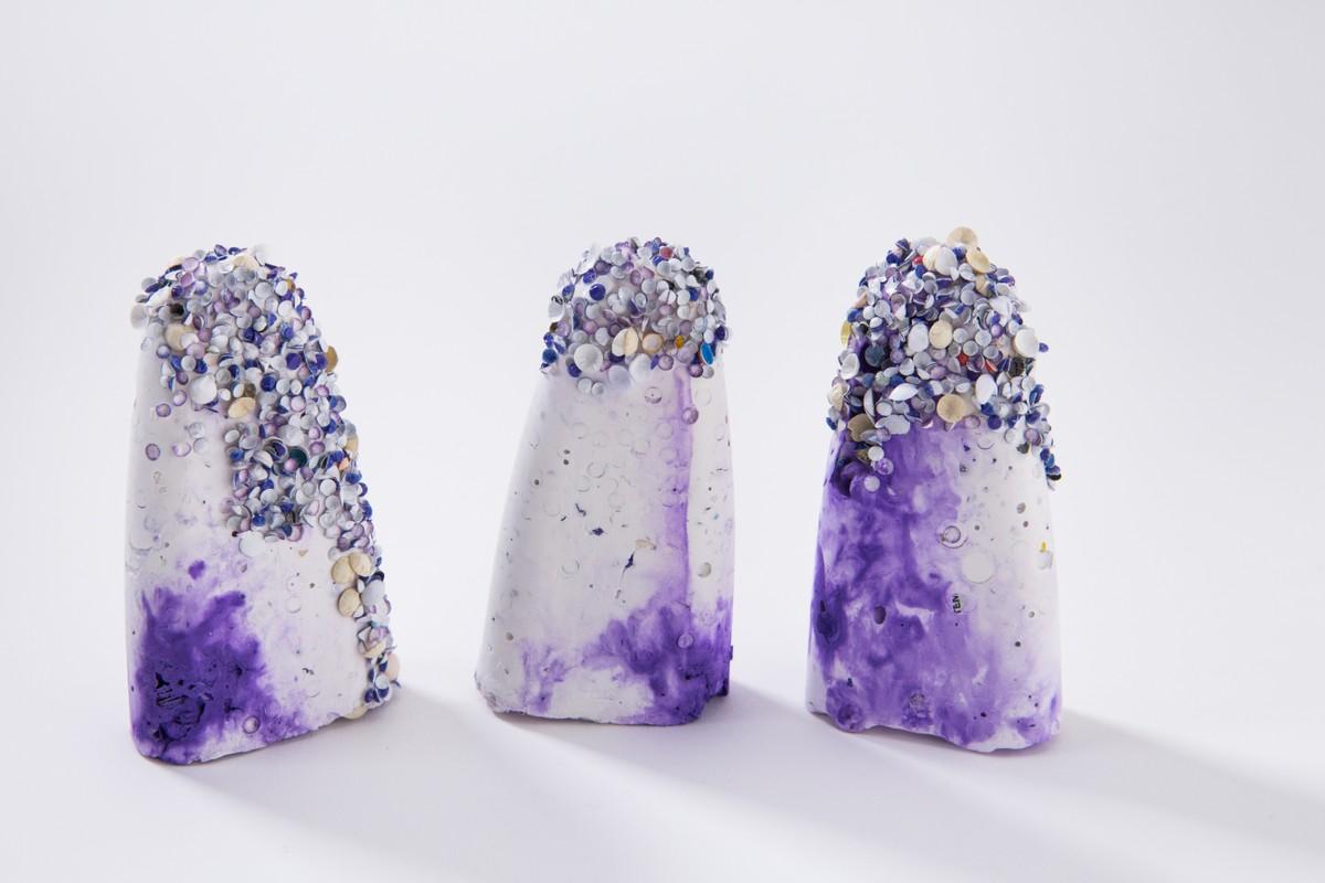 Artwork – Egbe Orun: M. tintinnabulum violet, 2020