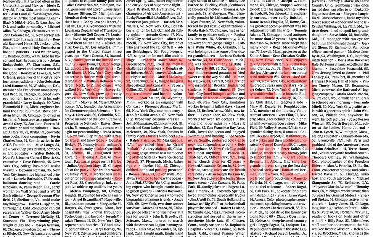 Artwork – Office Space Collective, Murder Victims, 2021