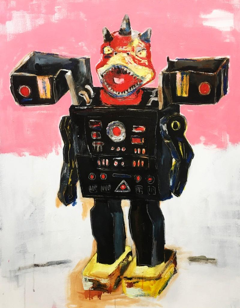Artwork – Robot T, 2020