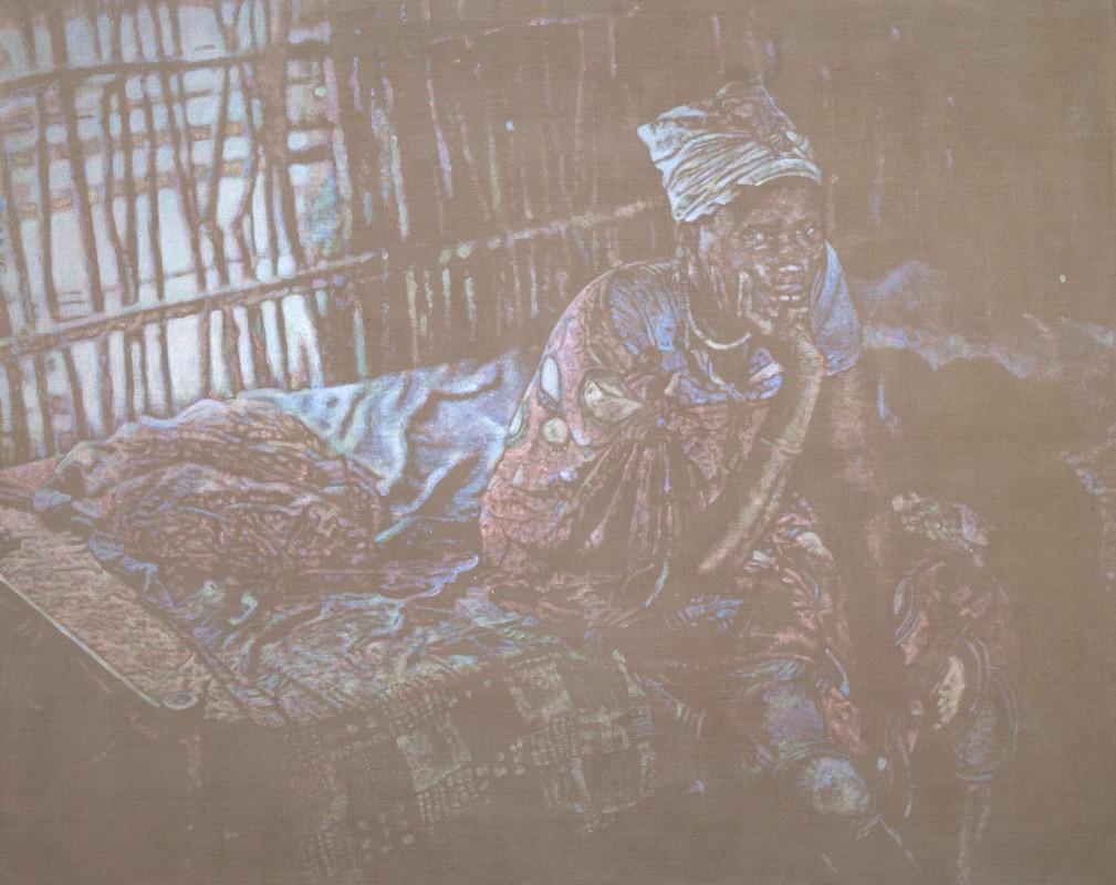 Artwork – Sundanese Refugee hut, 2018