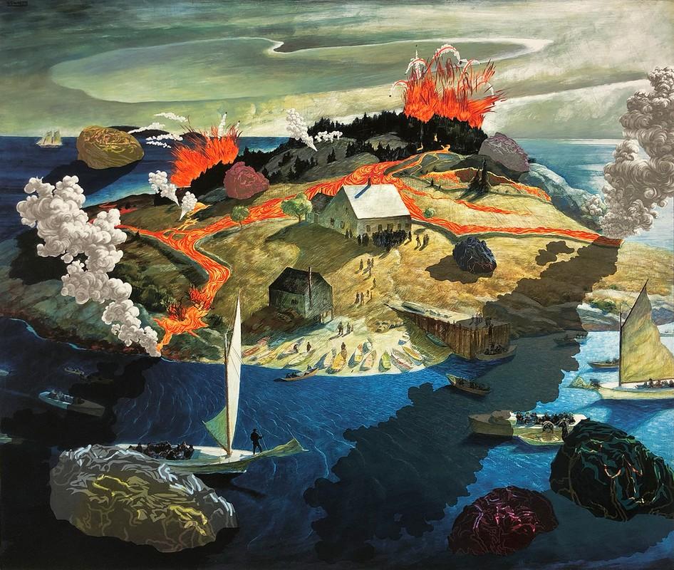 Artwork – Island Funeral, 2020