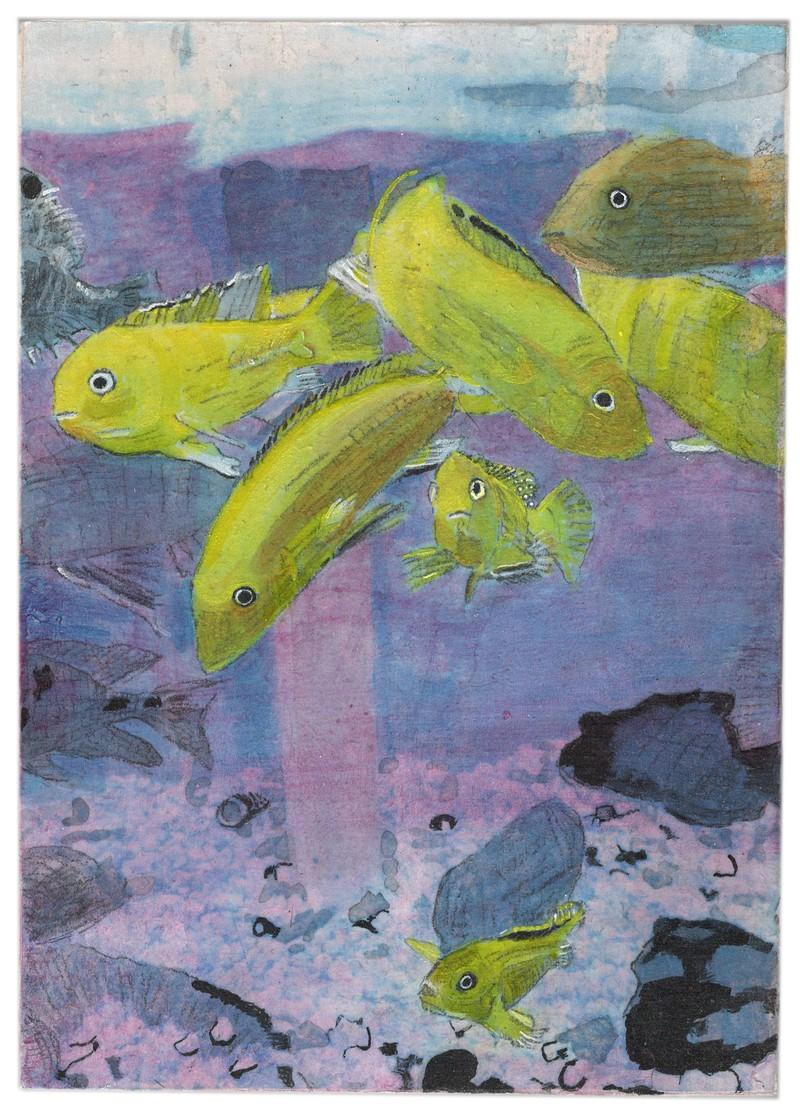Artwork – NATHAN KOENIG  : J. D. Bananafish, 2020