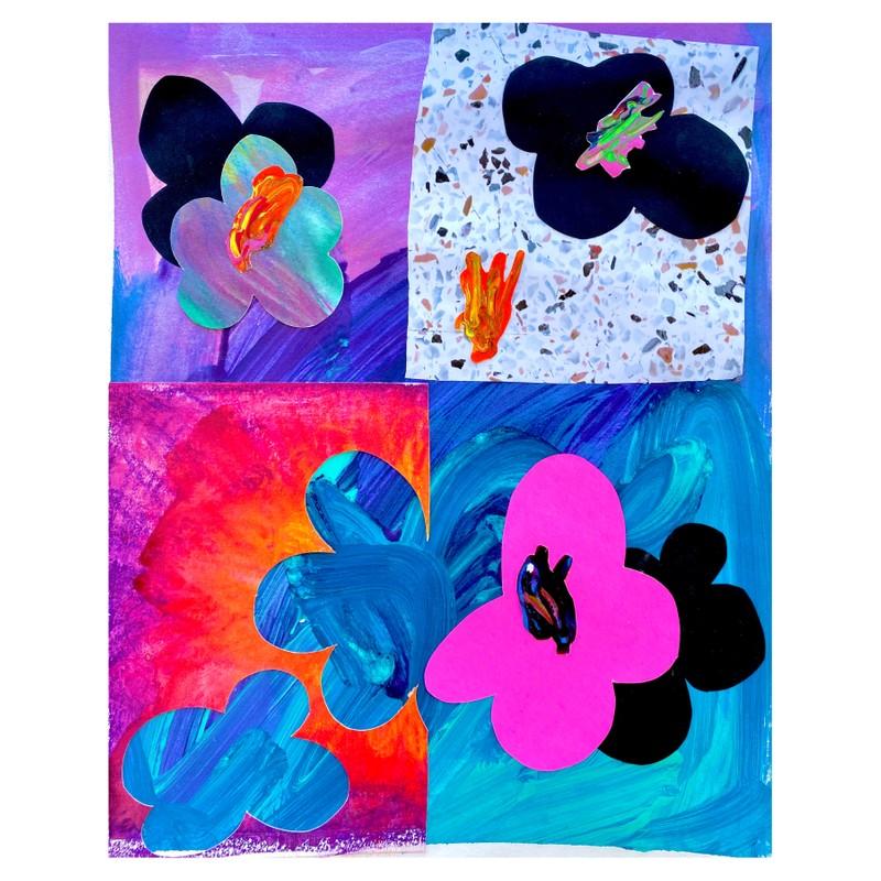 Artwork – Flower Quadrant, 2020