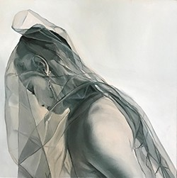 "Artwork – Nan Ring, ""Letetia in Veil"", 2019"