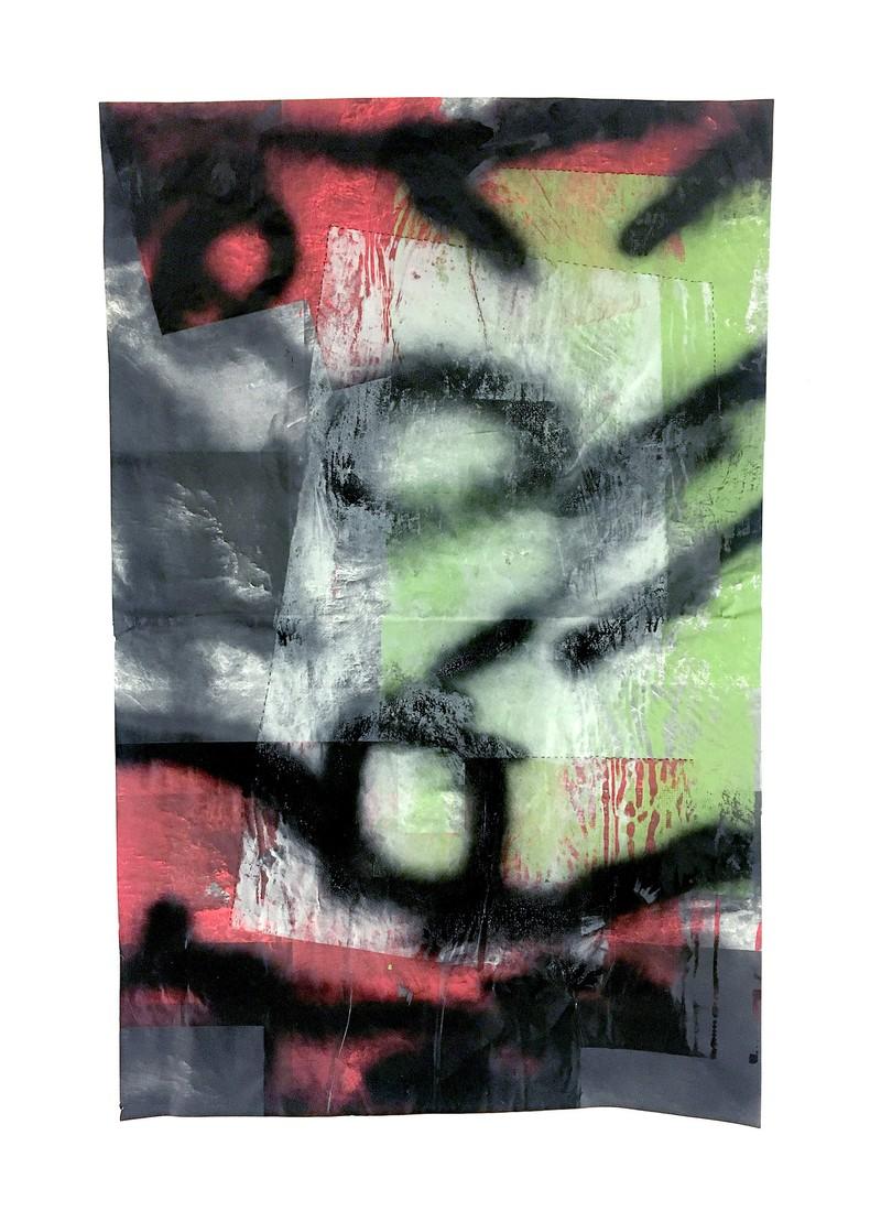 Artwork – MERIS Monoprint, 2018