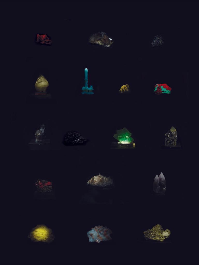 Artwork – Mineral Vitrails Large, 2013