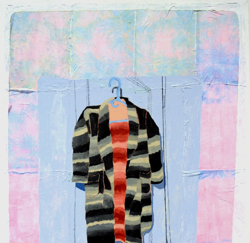 "Artwork – Marta Lee - ""Esther's Bathroom (Painting)"", 2017"