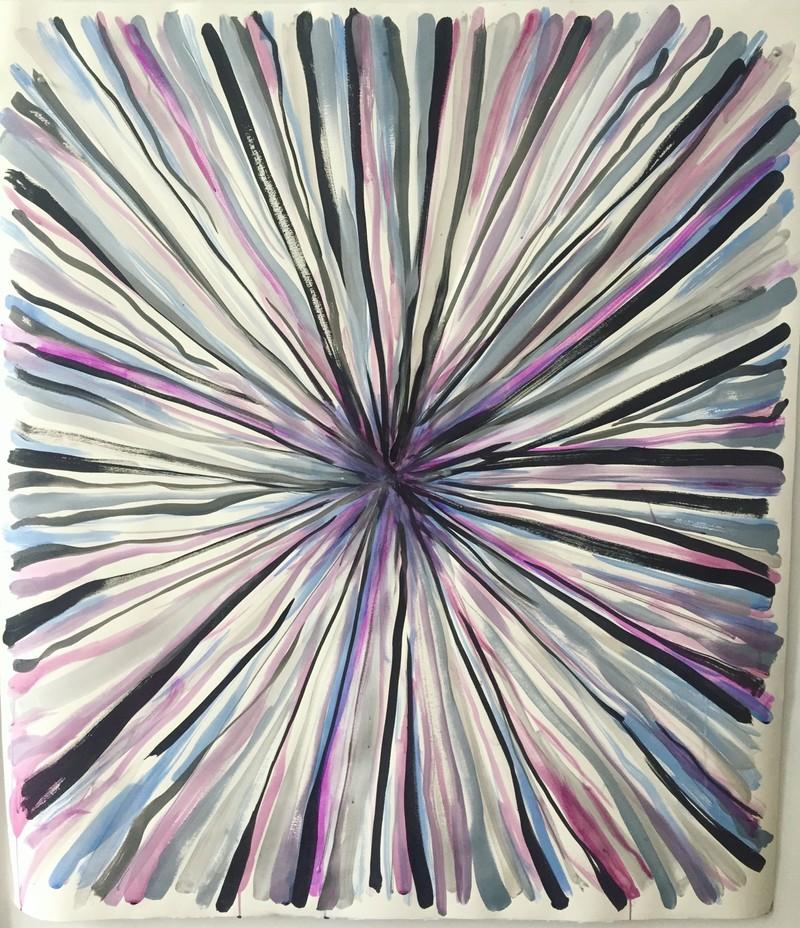 Artwork – Purple Vortex, 2020