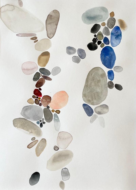 Artwork – River Stones: Migration, 2020