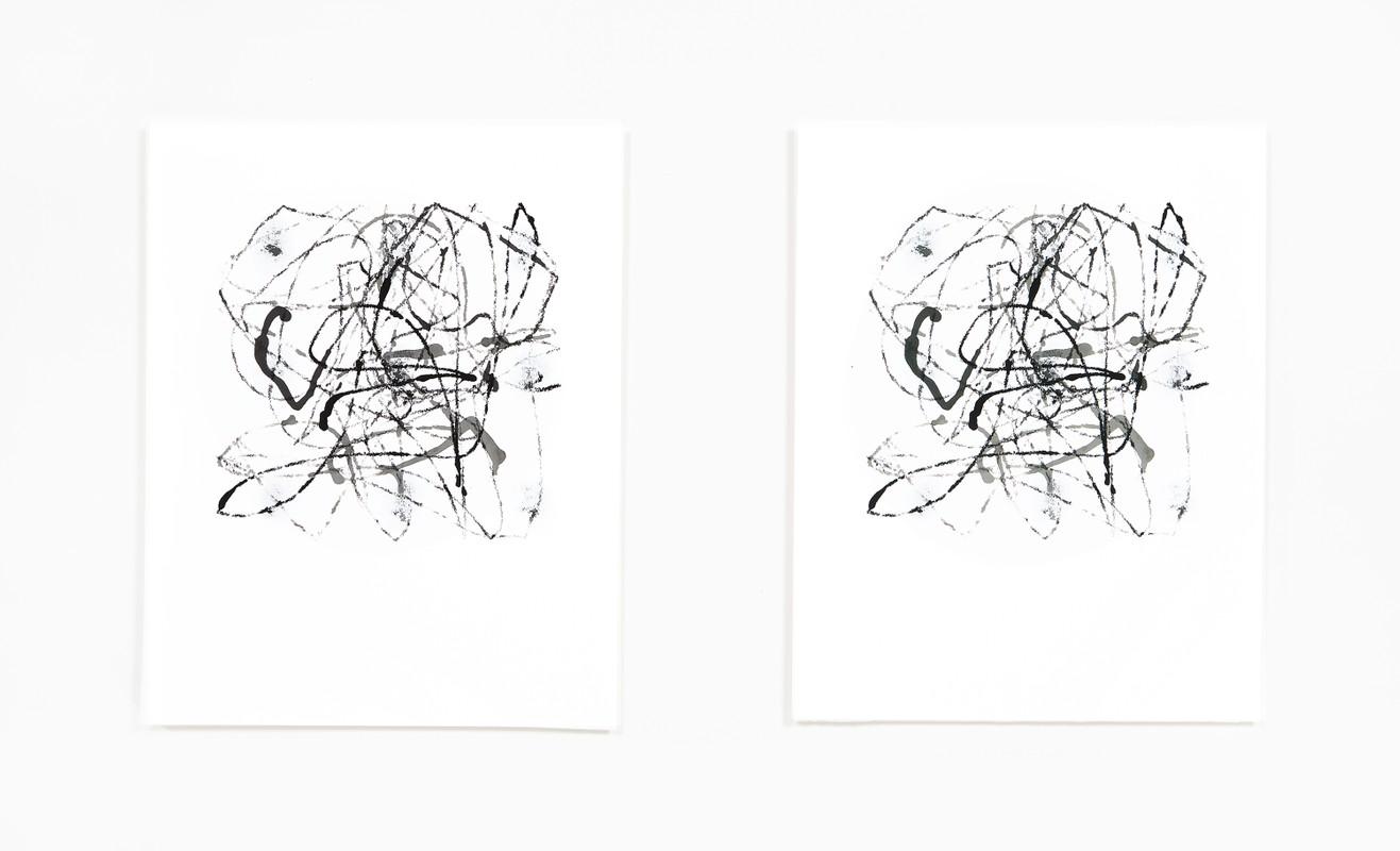 Artwork – Marble Drawing 20.04, 2020