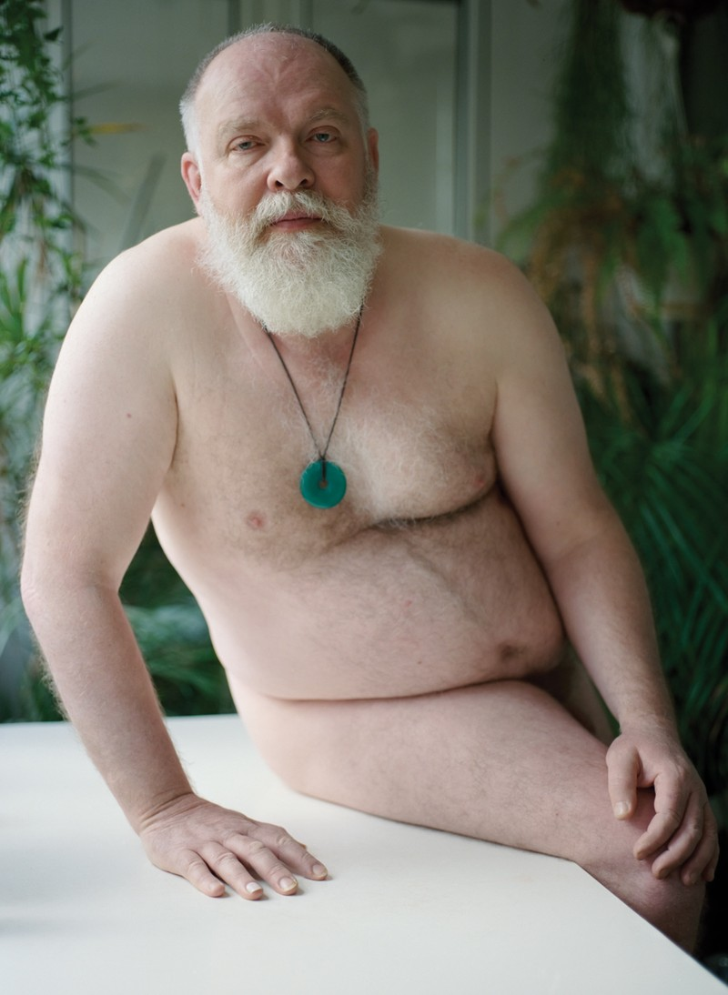 Artwork – Dominic Nude with Jade Pendant, 2018