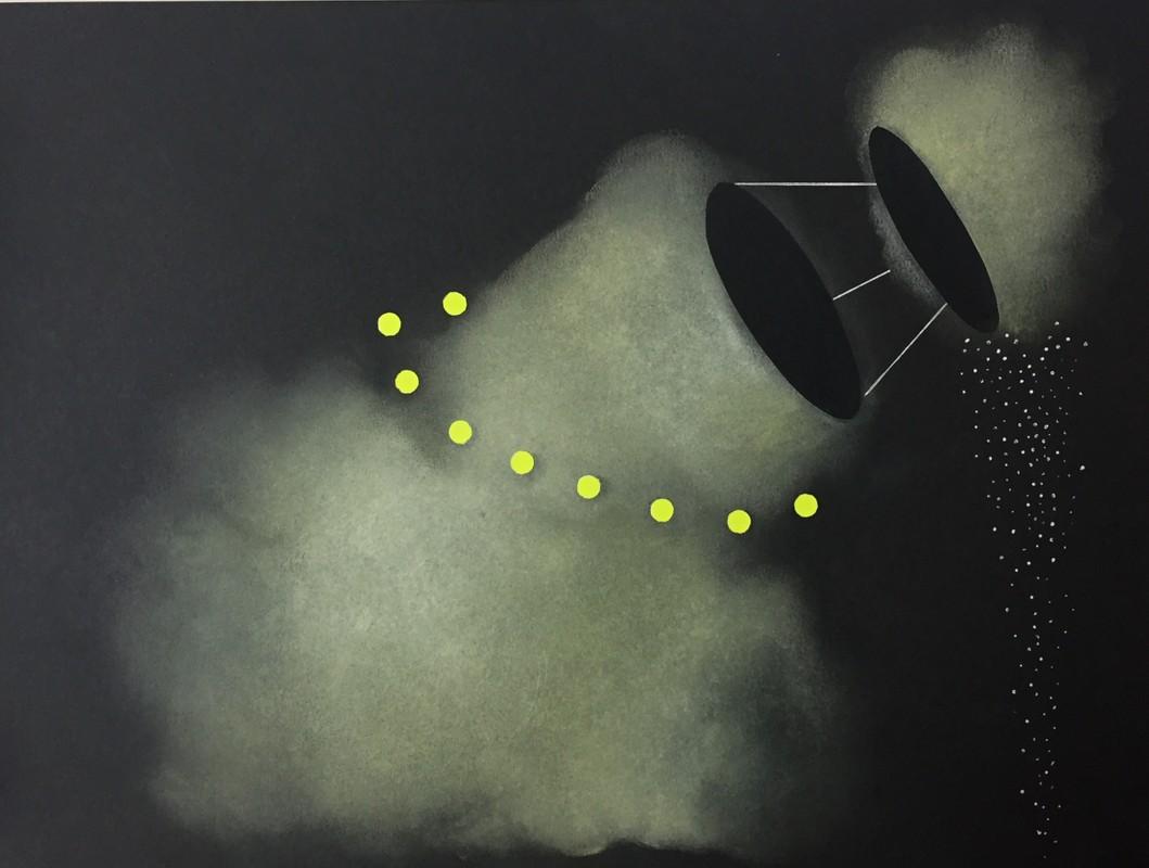 Artwork – AR Quanta 9 (satellite), 2017
