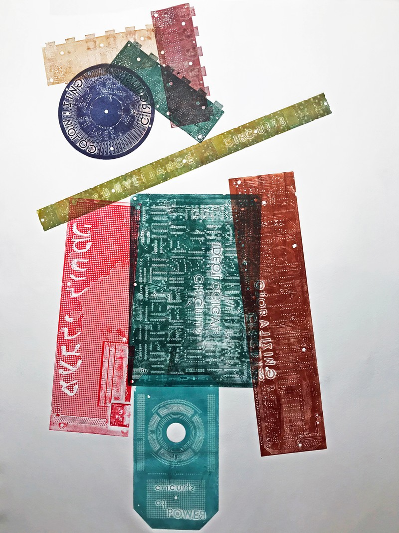 Artwork – Circuits of Power, 2018