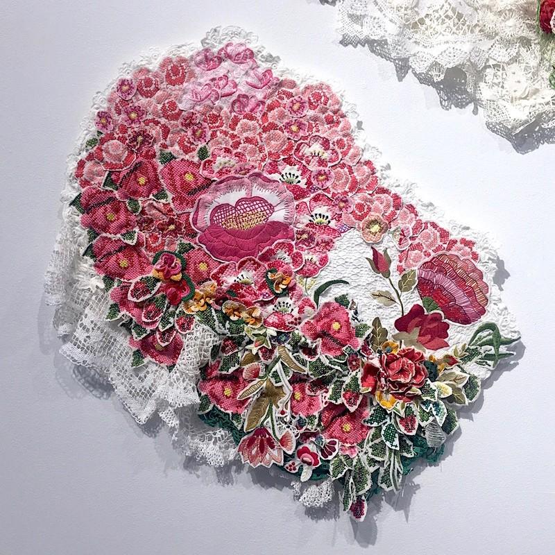 Artwork – Bloom red, 2018