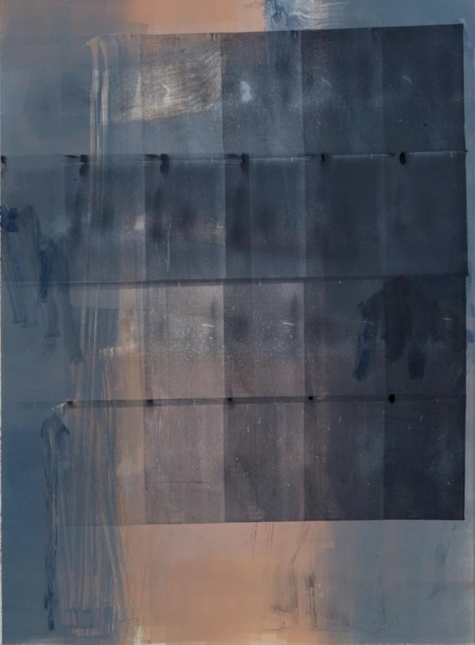 Artwork – untitled series (pink-grey), 2017