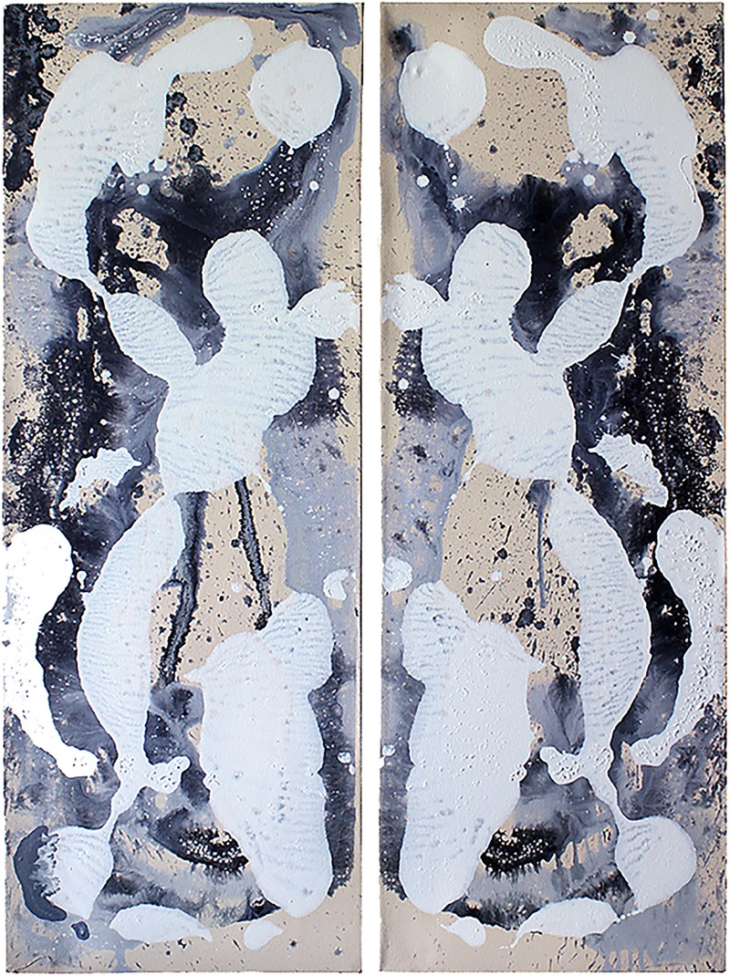 "Artwork – ""Untitled"" diptych 2, 2015"