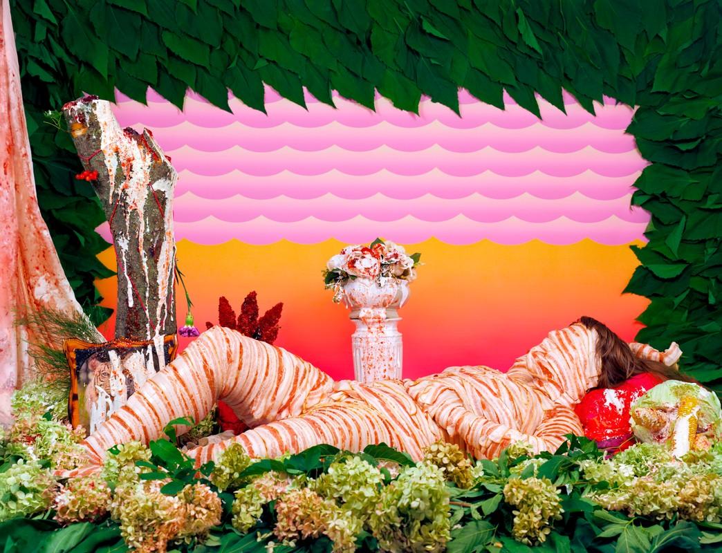 Artwork – Svea (Bacon Odalisque), 2016