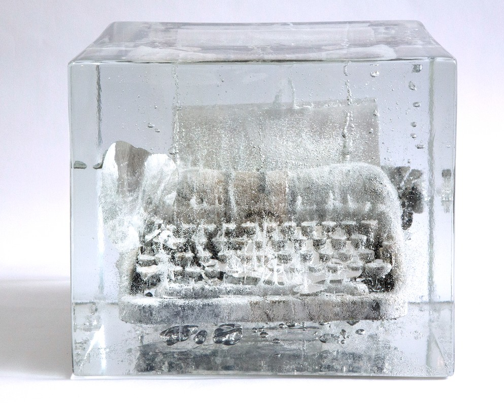 "Artwork – Typewriter 5: ""I am here..."", 2012"