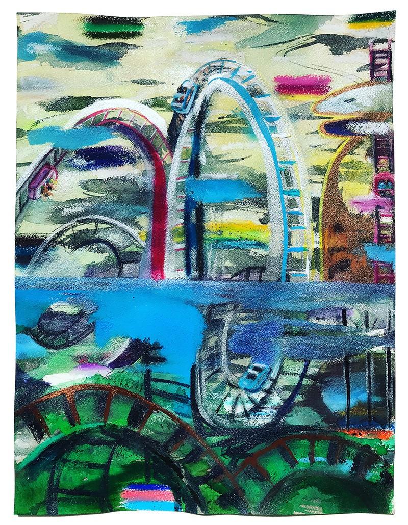 Artwork – Roller Coaster, 2020