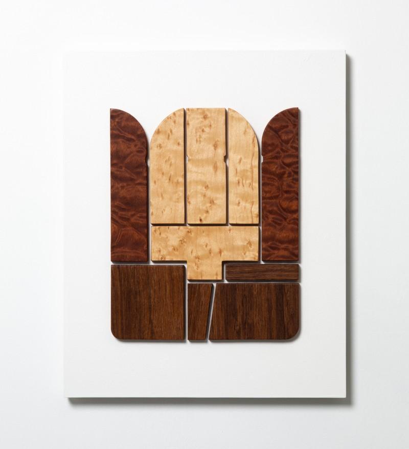 Artwork – Composition #3 (veneer ), 2019
